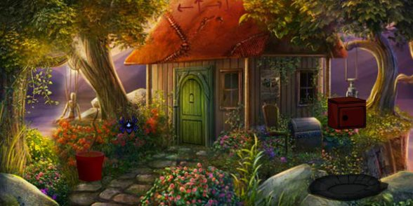 Fantasy Garden House Escape Free Room Escape Games