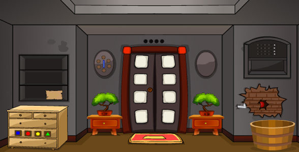 Cracked Toon House Escape