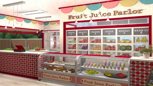 Escape the Fruit Juice Parlor