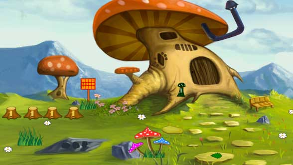 Knf Mushroom House – Puppy Escape