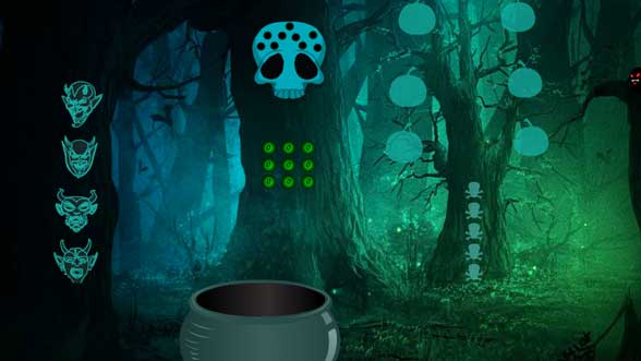 Wow Halloween Awful Forest Escape