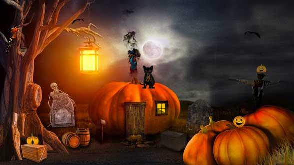 Escape Game: Halloween Cemetery Escape 2
