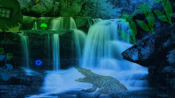 Wow Alligator Forest Escape