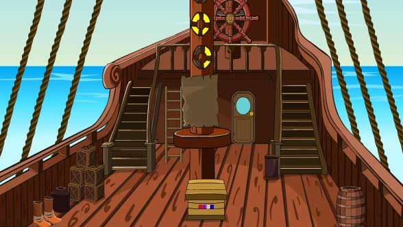 Mirchi Pirate Ship Escape