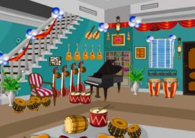 Knf Escape From Musical Instruments Shop