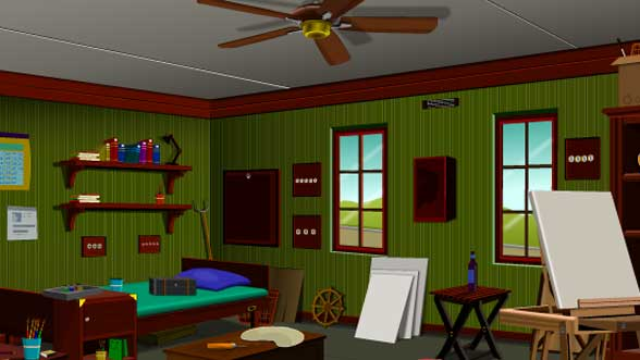 Play help the artist escape the best room escape games for The room escape game