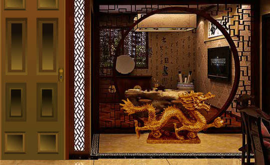Chinese Architectural House Escape