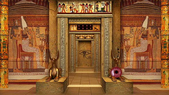 Cleopatra's Temple Escape