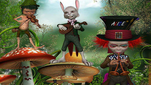 Japanese Escape The Room Game Alice In Wonderland