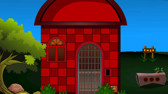Avm Red Wall House Escape