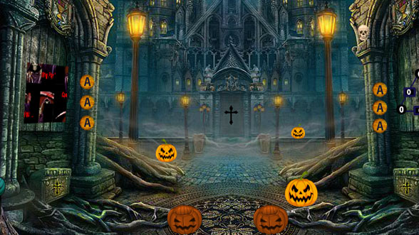 Halloween Abandoned Palace Escape - Free Room Escape Games