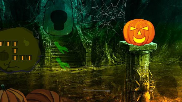 Halloween Fantasy Forest Escape