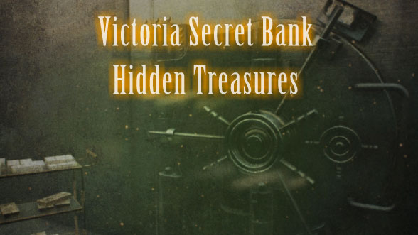 Victoria Secret Bank Hidden Treasures