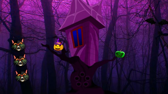 Wow Halloween Gothic Forest Escape