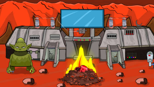 Mission On Mars Alien Rescue