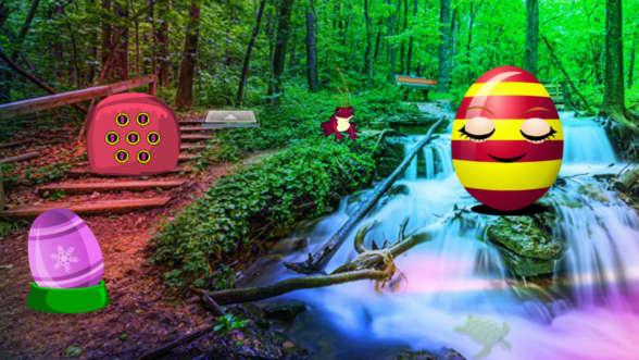 Fantasy Easter Egg Forest Escape
