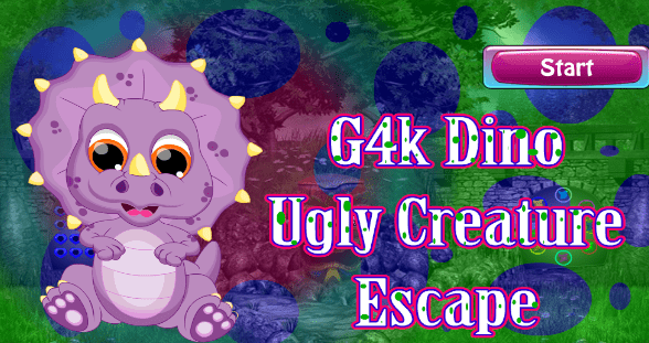 G4K Dino Ugly Creature Escape