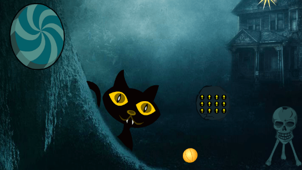 WOW Scary Black Cat Forest Escape