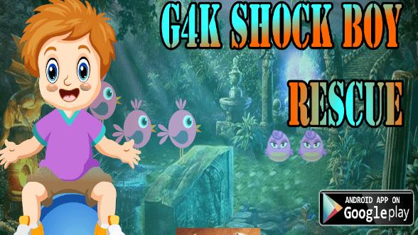 G4K Shock Boy Rescue Game